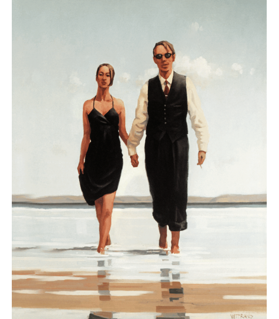 Printing on canvas: Jack Vettriano - Tender Hearts