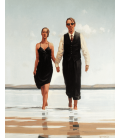 Jack Vettriano - Tender Hearts. Printing on canvas