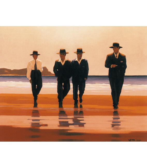 Printing on canvas: Jack Vettriano - The Billy Boys