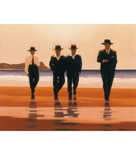 Jack Vettriano - The Billy Boys. Stampa su tela