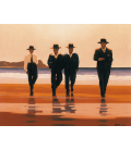 Jack Vettriano - The Billy Boys. Printing on canvas