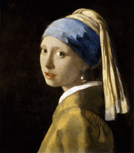 Jan Vermeer - The Girl with a Pearl Earring. Printing on canvas