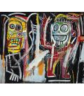 Printing on canvas: Jean-Michel Basquiat - Dustheads