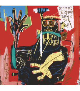 Jean-Michel Basquiat - Ernok. Printing on canvas
