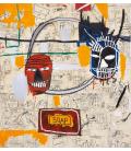 Jean-Michel Basquiat - Kunst. Printing on canvas