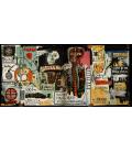 Stampa su tela: Jean Michel Basquiat - Notary