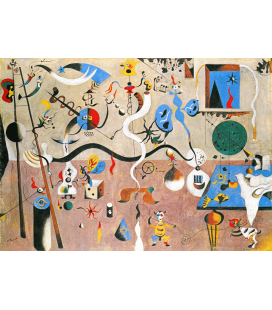 Printing on canvas: Joan Miro - The Harlequin Carnival
