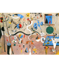 Joan Miro - The Harlequin Carnival. Printing on canvas