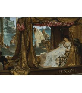 Lawrence Alma-Tadema - Antonio e Cleopatra. Stampa su tela