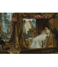 Lawrence Alma-Tadema - Antony and Cleopatra. Printing on canvas