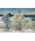 Lawrence Alma-Tadema - Ask Me No More. Printing on canvas
