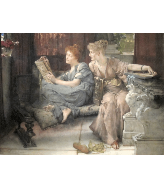 Printing on canvas: Lawrence Alma-Tadema - Comparison