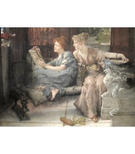 Lawrence Alma-Tadema - Apparizione. Stampa su tela
