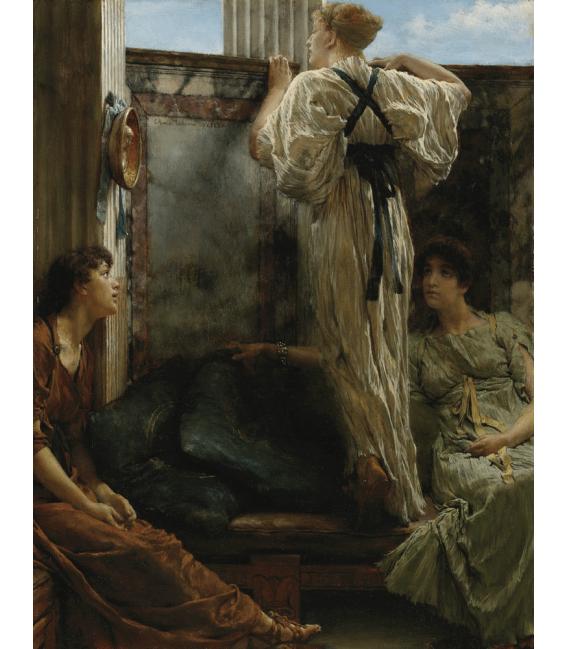 Stampa su tela: Lawrence Alma-Tadema - Cos'è