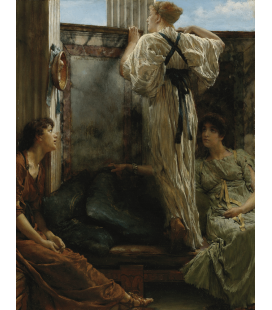 Printing on canvas: Lawrence Alma-Tadema - Who is it?