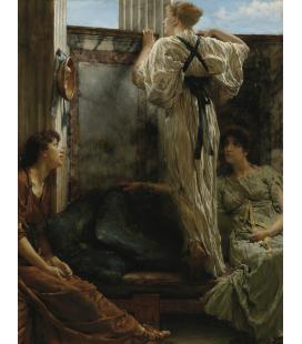 Lawrence Alma-Tadema - Cos'è. Stampa su tela