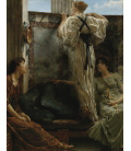 Lawrence Alma-Tadema - Who is it?. Printing on canvas