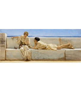 Lawrence Alma-Tadema - Question. Printing on canvas