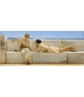 Printing on canvas: Lawrence Alma-Tadema - Question