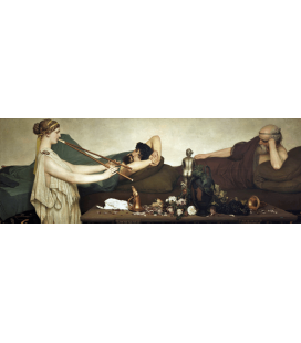 Printing on canvas: Lawrence Alma-Tadema - Pompeian Scene or The Siesta