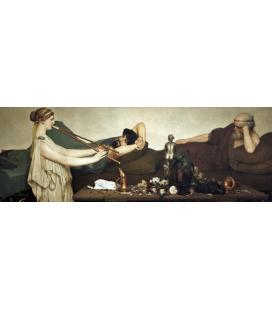 Lawrence Alma-Tadema - Scena pompeiana. Stampa su tela