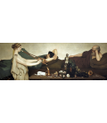 Lawrence Alma-Tadema - Pompeian Scene or The Siesta. Printing on canvas