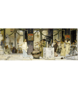 Lawrence Alma-Tadema - Antique Festival. Printing on canvas