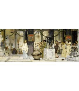Lawrence Alma-Tadema - Festival antico. Stampa su tela