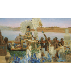 Printing on canvas: Lawrence Alma-Tadema - The Finding of Moses
