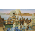 Lawrence Alma-Tadema - The Finding of Moses. Printing on canvas