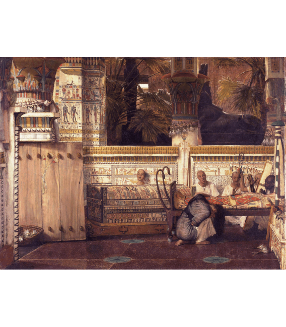 Printing on canvas: Lawrence Alma-Tadema - The Egyptian Widow
