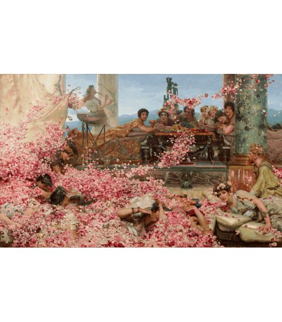 Stampa su tela: Lawrence Alma-Tadema - Le rose di Eliogabalo