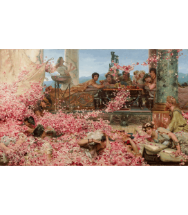 Lawrence Alma-Tadema - The Roses of Heliogabalus. Printing on canvas