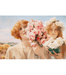 Stampa su tela: Lawrence Alma-Tadema - Summer Offering