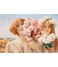 Lawrence Alma-Tadema - Summer Offering. Printing on canvas