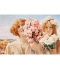 Lawrence Alma-Tadema - Offerta estiva. Stampa su tela