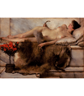 Lawrence Alma-Tadema - Tepidarium. Printing on canvas
