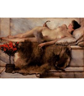 Lawrence Alma-Tadema - Tepidarium. Stampa su tela