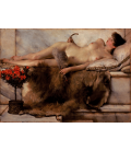 Printing on canvas: Lawrence Alma-Tadema - Tepidarium