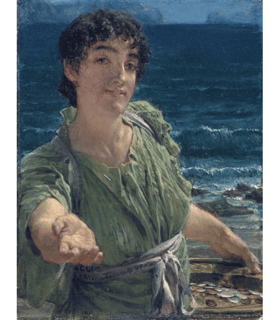 Printing on canvas: Lawrence Alma-Tadema - A charity