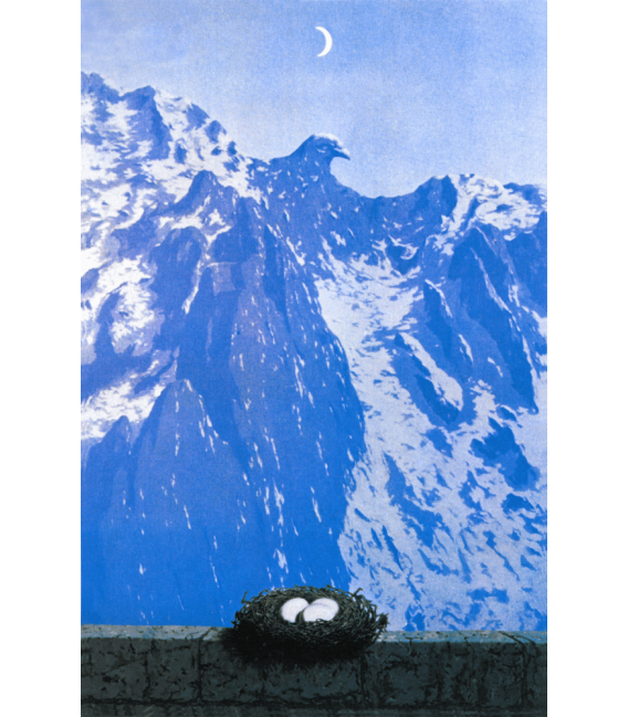 Printing on canvas: Rene Magritte - The Domain of Arnheim