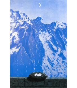 Magritte René - Il dominio di Arnheim. Stampa su tela