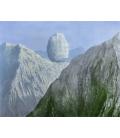 Stampa su tela: Magritte René - La chiave di vetro
