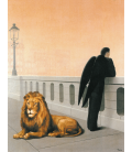 Printing on canvas: Rene Magritte - Homesickness