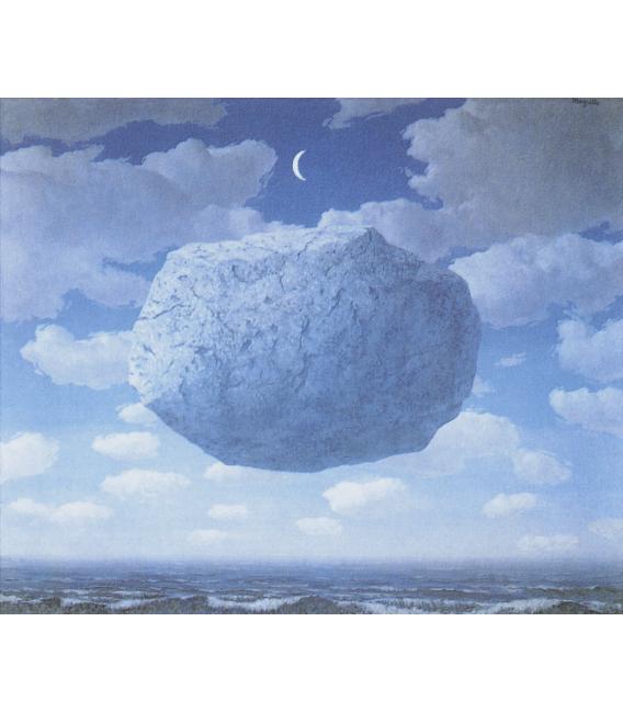 Stampa su tela: Magritte René - La Freccia di Zenone