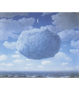 Printing on canvas: Rene Magritte - Zeno's Arrow