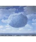 Magritte René - La Freccia di Zenone. Stampa su tela