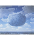 Rene Magritte - Zeno's Arrow. Printing on canvas