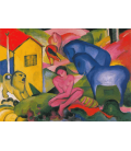 Franz Marc - The Dream. Printing on canvas