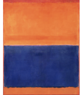 Printing on canvas: Mark Rothko - Orange and Blue